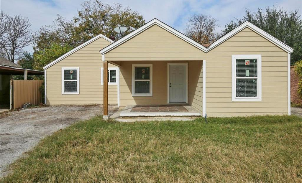 Sold Property | 3663 Race Street Fort Worth, Texas 76111 0