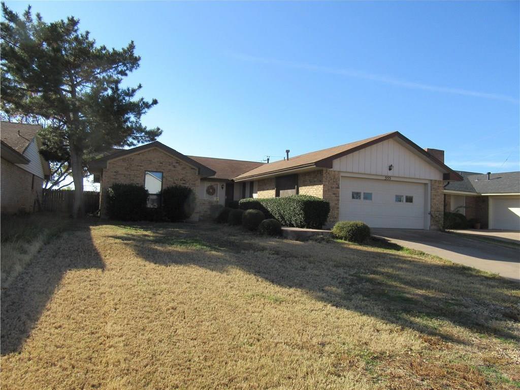 Sold Property | 555 Scotland Court Abilene, Texas 79601 0