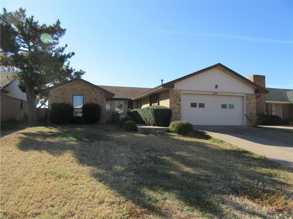 Sold Property | 555 Scotland Court Abilene, Texas 79601 1