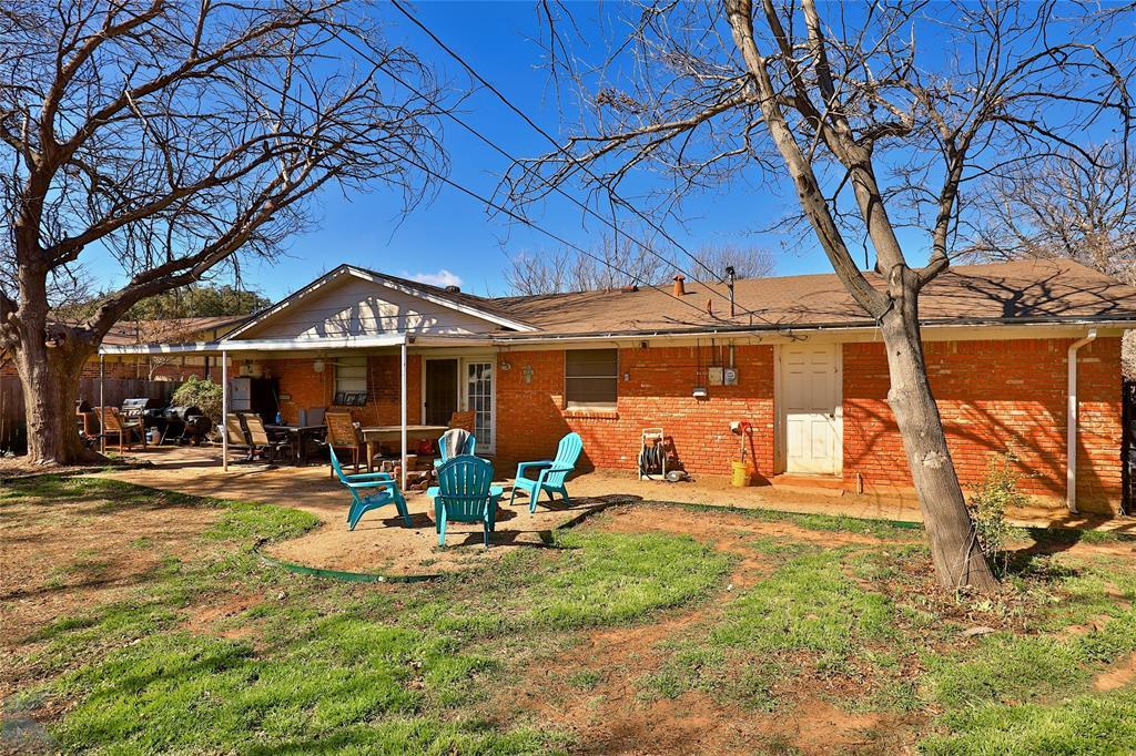 Sold Property | 2501 Elmwood Drive Abilene, Texas 79605 32