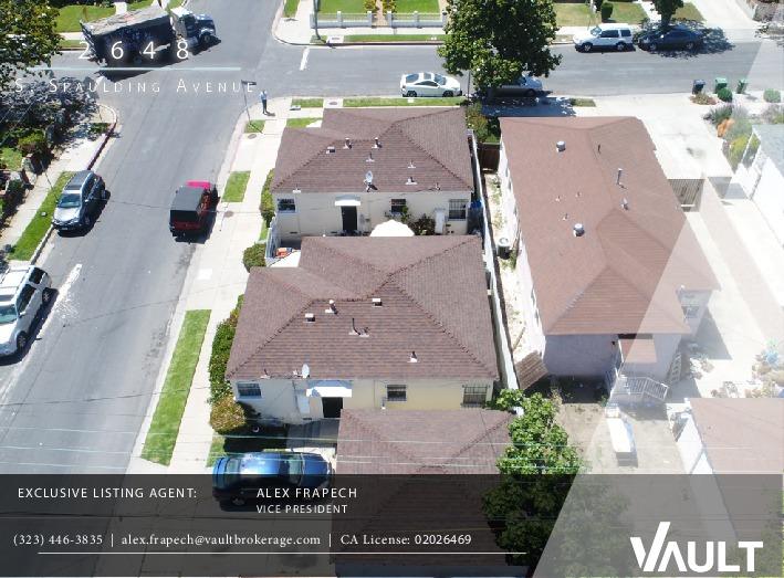 Closed   2648 S SPAULDING  Avenue Los Angeles, CA 90016 9