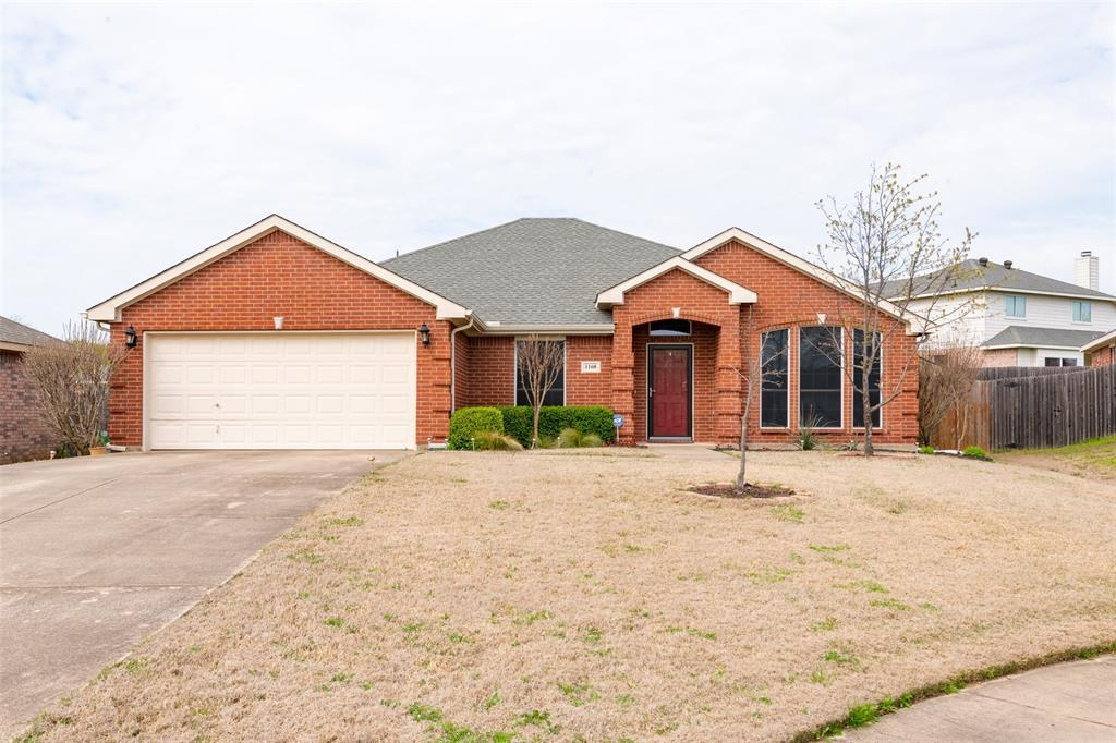Sold Property | 1168 Blue Rider Court Benbrook, TX 76126 1