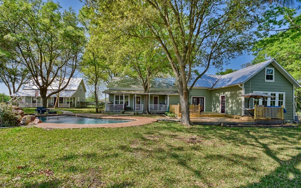 Stunning Round Top Home with Guest House, Pool, Pond - Fabulous!   2720 Finke  Road Round Top, TX 78954 1