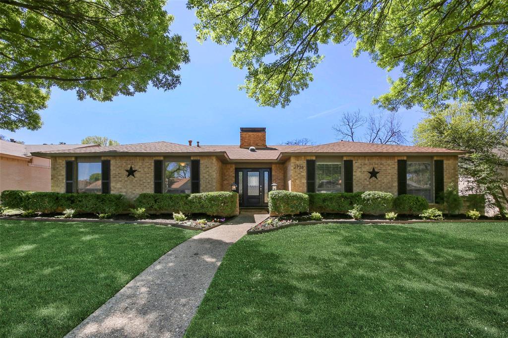 Dallas Real Estate   7726 El Santo Lane Dallas, Texas 75248 1