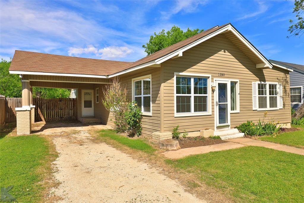 Sold Property | 1150 Vine Street Abilene, TX 79602 1