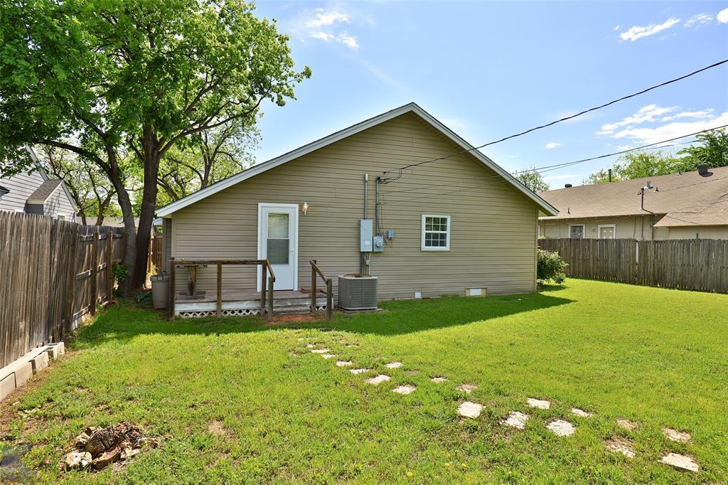 Sold Property | 1150 Vine Street Abilene, TX 79602 32