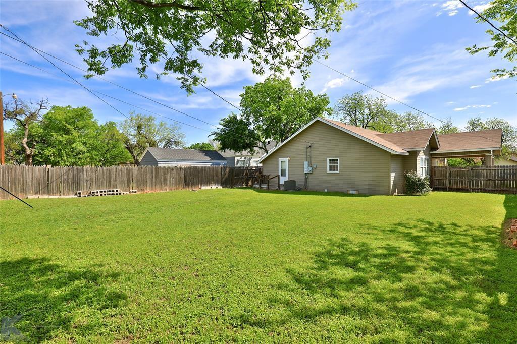 Sold Property | 1150 Vine Street Abilene, TX 79602 33