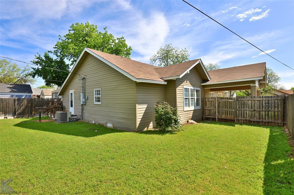 Sold Property | 1150 Vine Street Abilene, TX 79602 34
