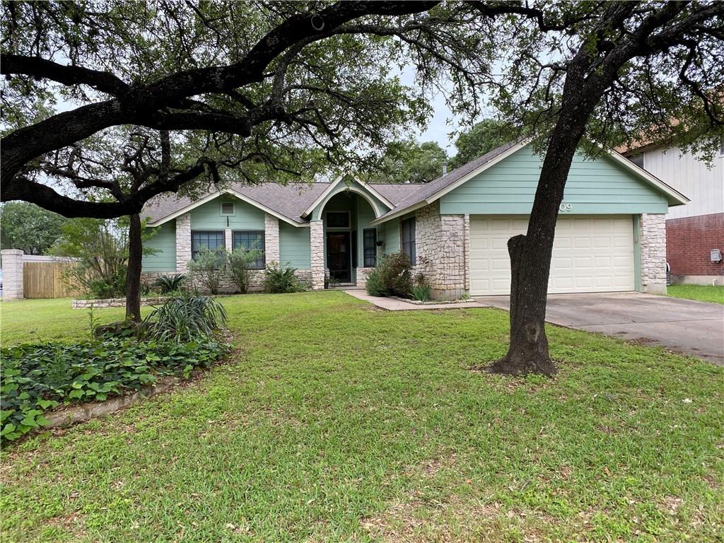 homes for lease in cedar park, 4 bedroom home, private back yard | 3209 Pepper Grass Trail Cedar Park, TX 78613 1