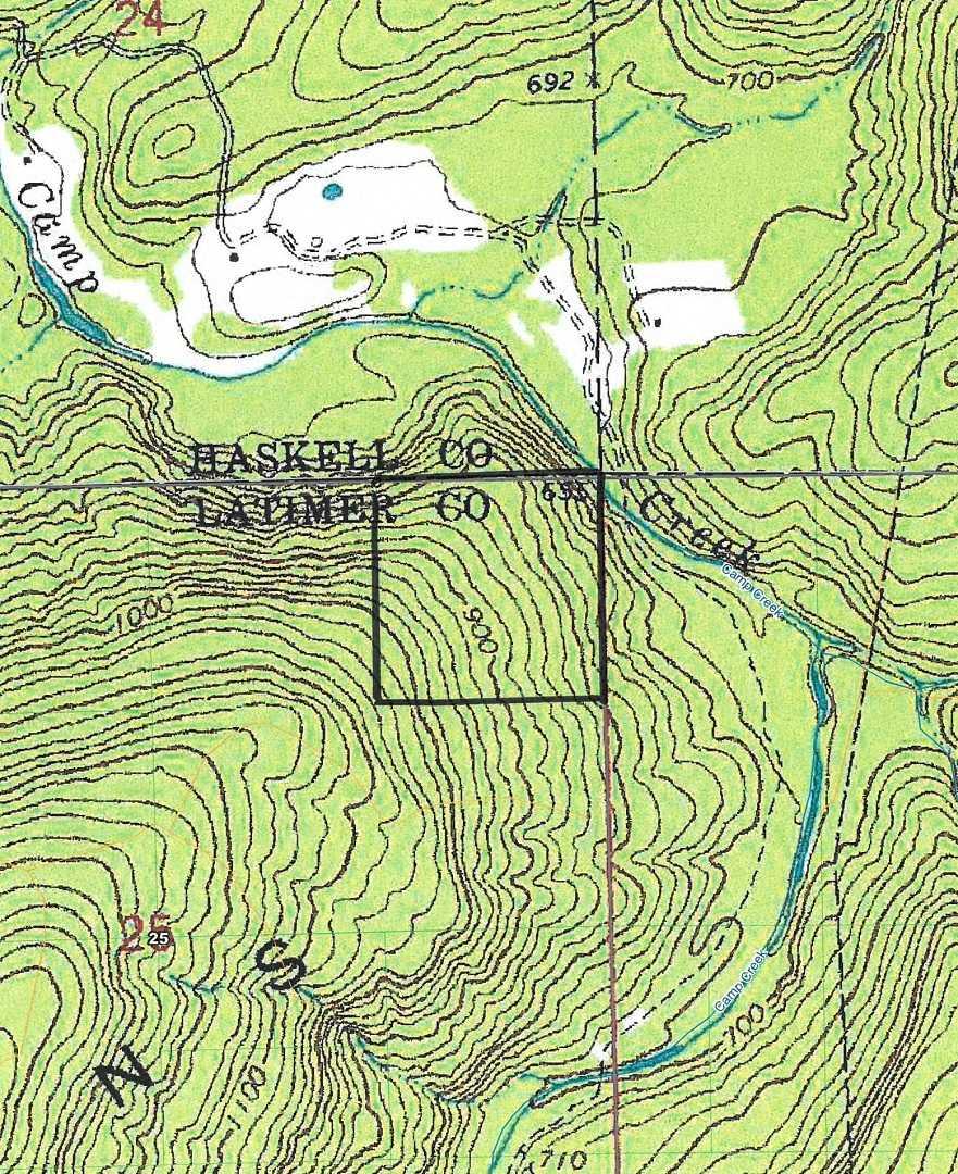 Pending | Camp Creek 40 Acres Red Oak, OK 74563 1
