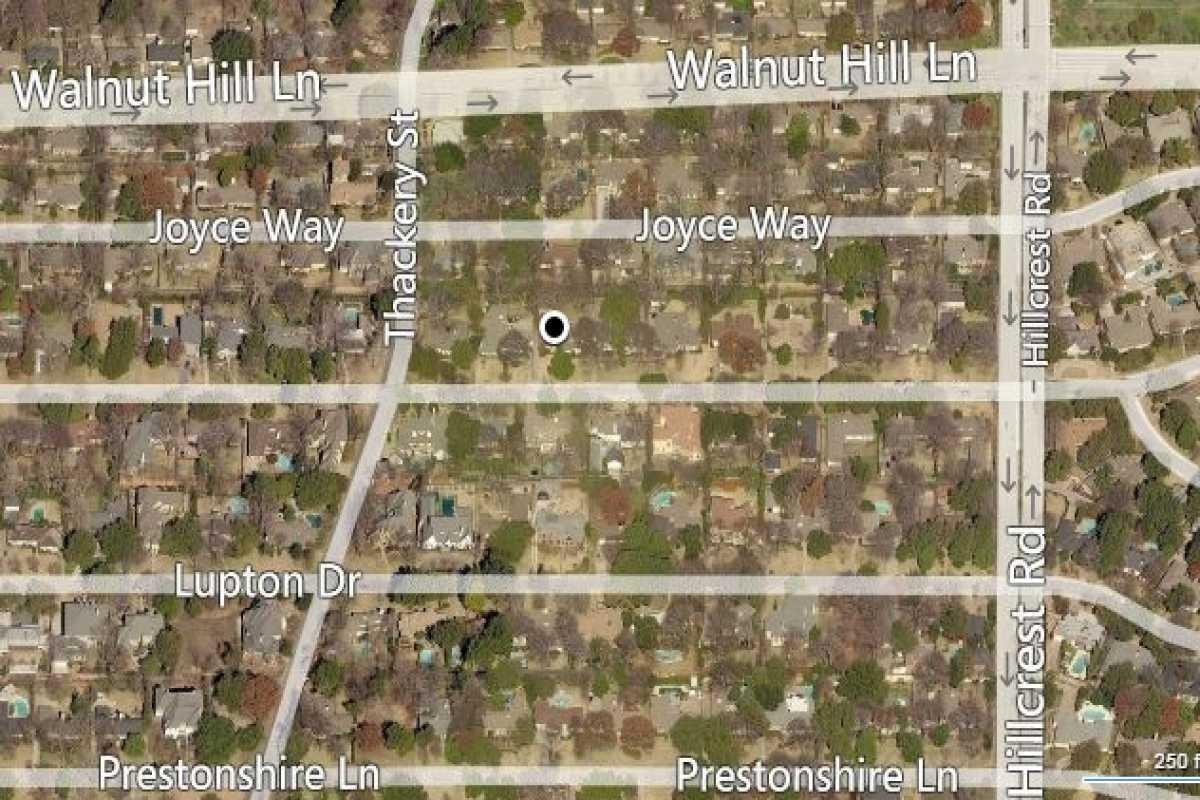 Preston Hollow Lot | 6723 Stefani Drive Dallas, TX 75225 1