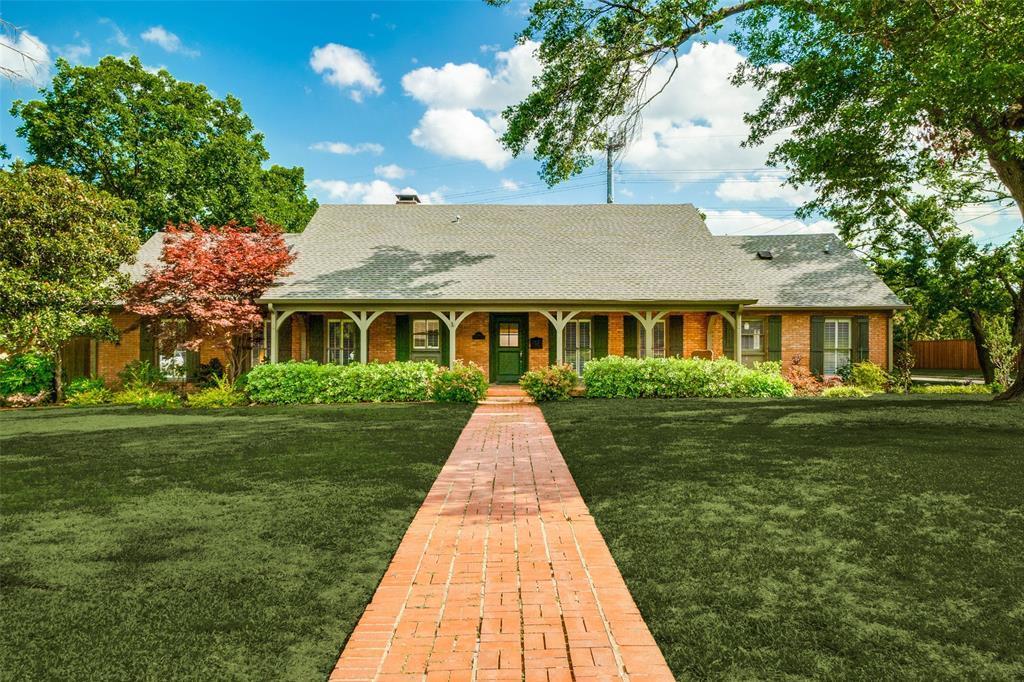 Sold Property | 7106 Azalea Lane Dallas, Texas 75230 0