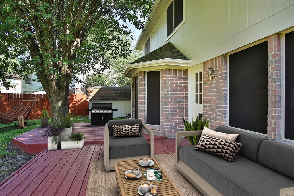Option Pending | 14427 Little Willow  Walk Houston, TX 77062 4