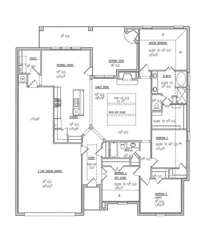 Sold Property | 661 Creek Point  Drive Saginaw, TX 76179 22