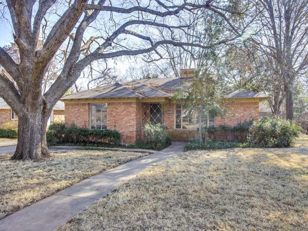 Sold Property | 6448 Highgate Lane Dallas, Texas 75214 1