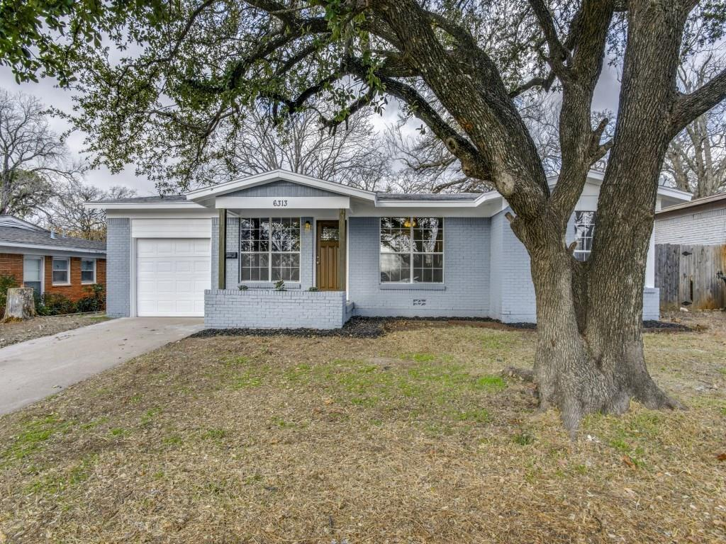 Sold Property | 6313 Greenlee Street Fort Worth, Texas 76112 1