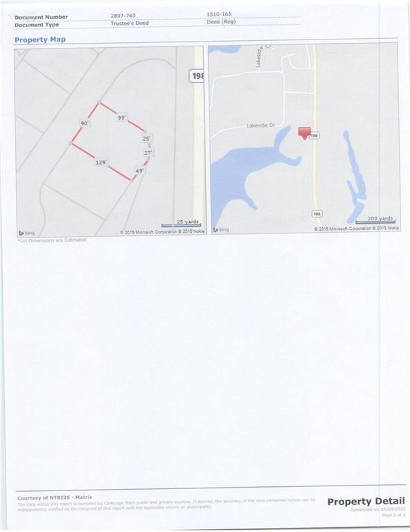 Active | Lot 1 Waterside Court Malakoff, TX 75148 1