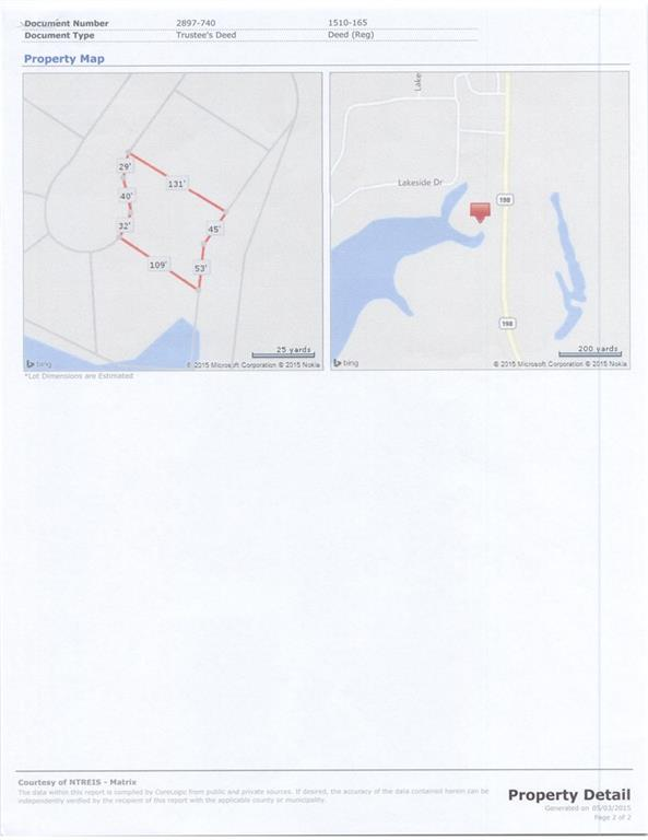 Active | Lot 3 Waterside Court Malakoff, TX 75148 1