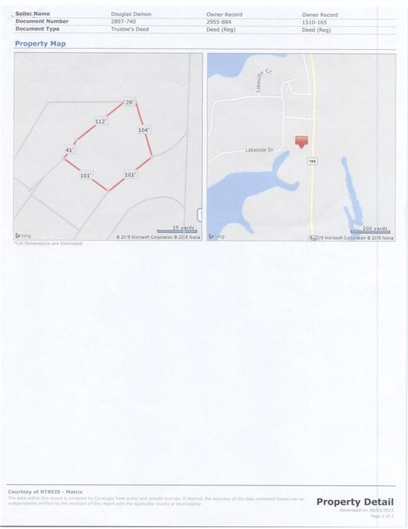 Active | Lot 11 Waterside Court Malakoff, TX 75148 1