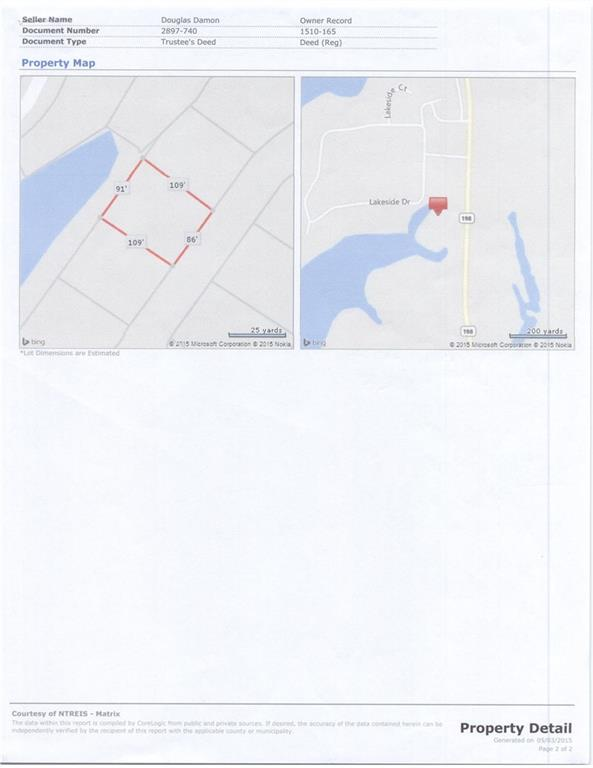 Active | Lot 9 Waterside Court Malakoff, TX 75148 1