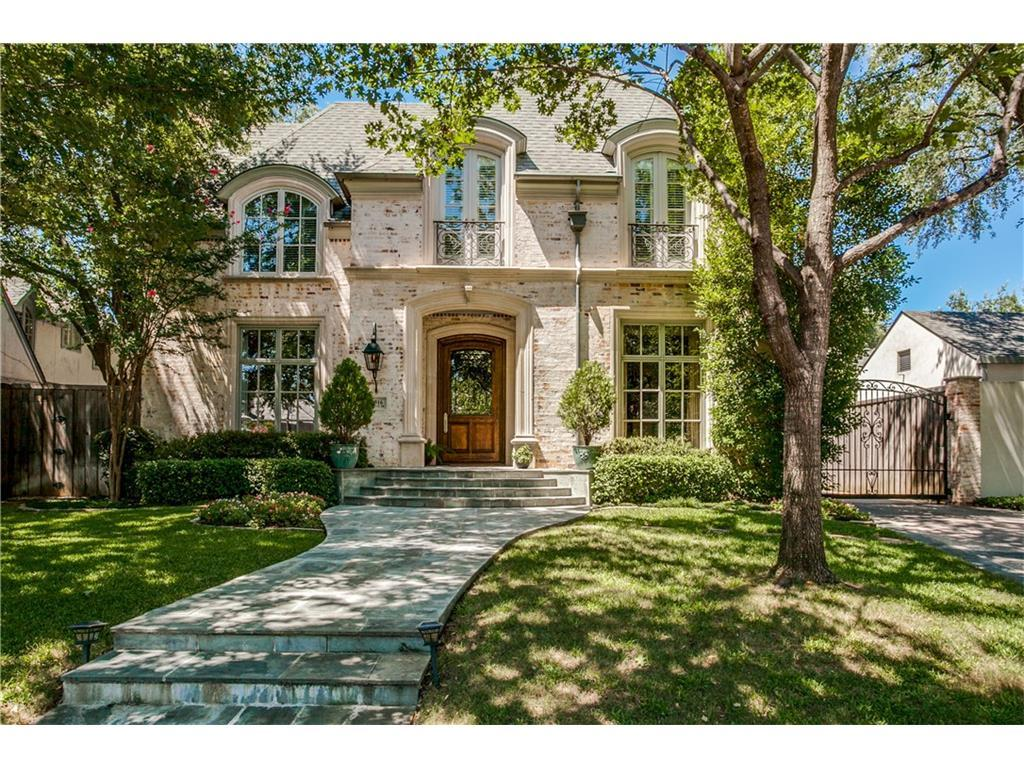 Sold Property   4316 Fairfax Avenue Highland Park, TX 75205 0