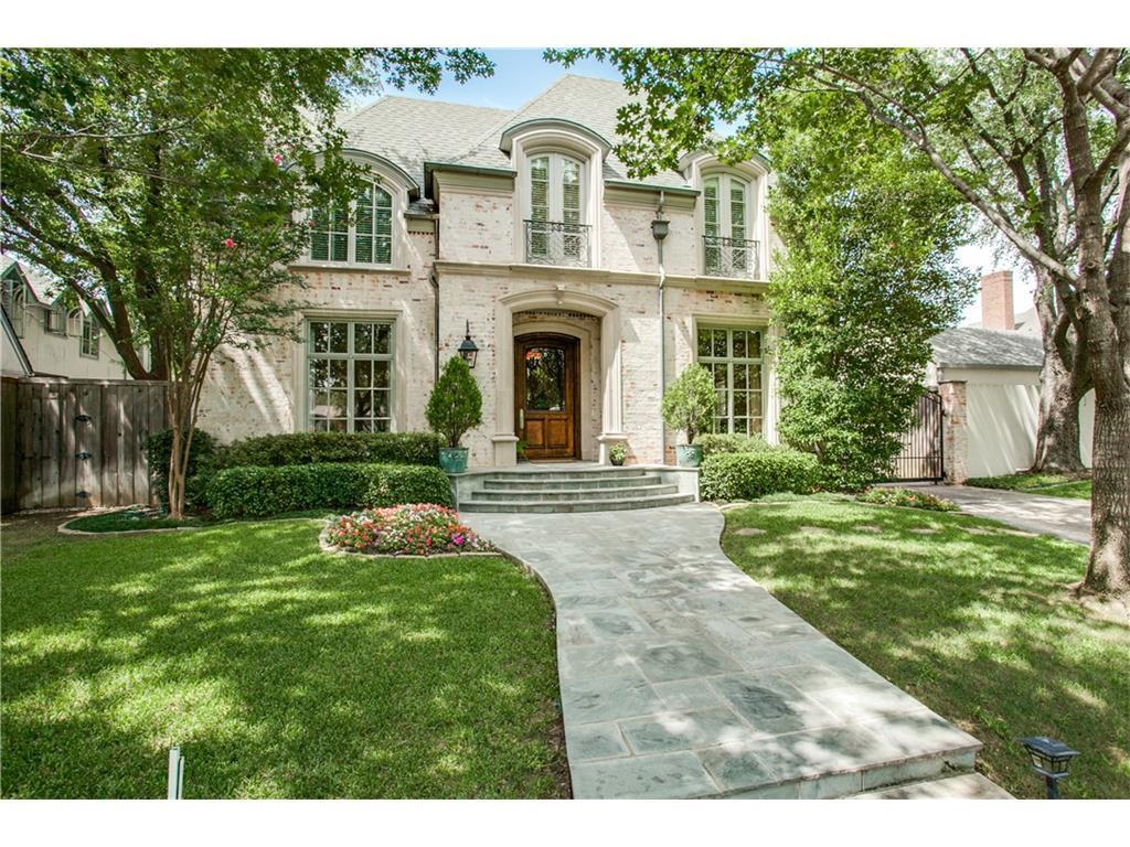Sold Property   4316 Fairfax Avenue Highland Park, TX 75205 1