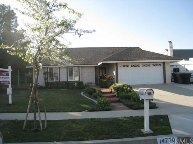 Closed | 14770 Osmunda  Avenue Chino Hills, CA 91709 0