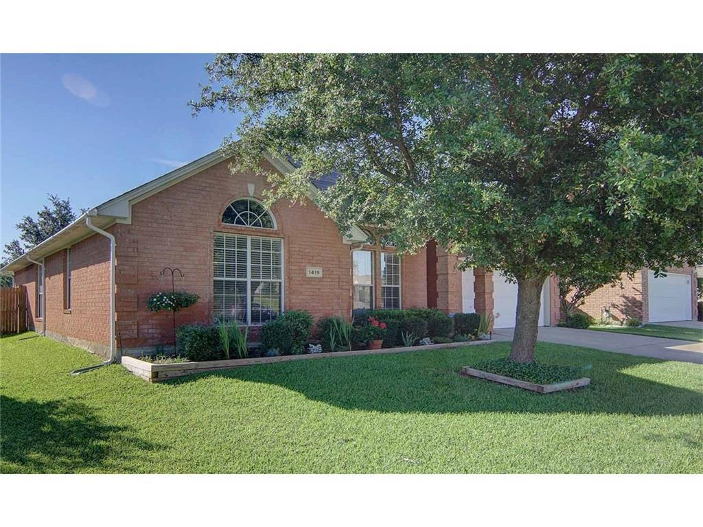 Sold Property | 1419 Lyra  Lane Arlington, TX 76013 1