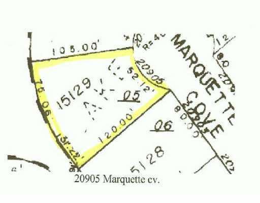 Sold Property   20905 Marquette  CV Lago Vista, TX 78645 0