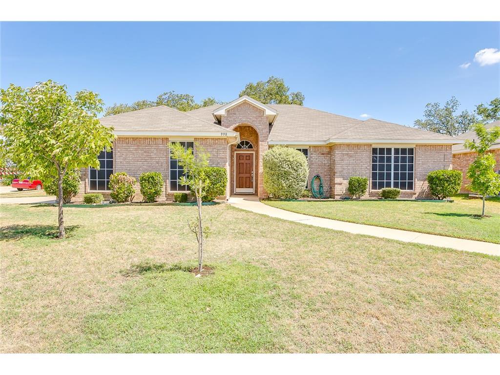 Sold Property | 998 Mesa Vista  Drive Crowley, TX 76036 1