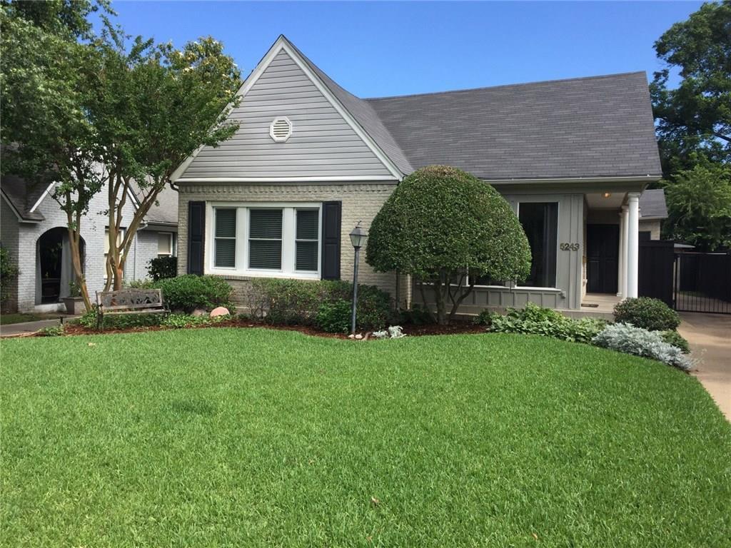 Sold Property | 5243 Ridgedale Avenue Dallas, Texas 75206 2
