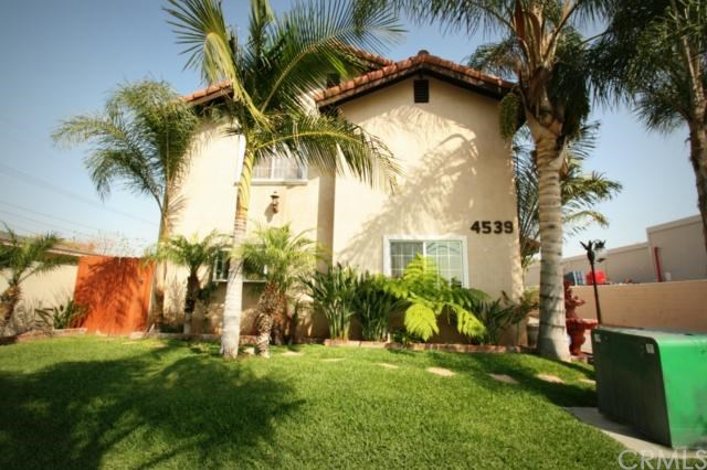 Closed | 4539 Santa Ana  Street #A Cudahy, CA 90201 0