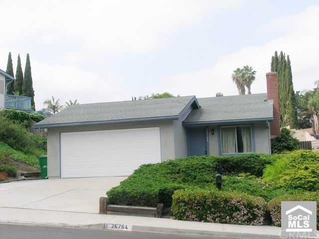 Closed | 26764 AVENIDA SHONTO Mission Viejo, CA 92691 0