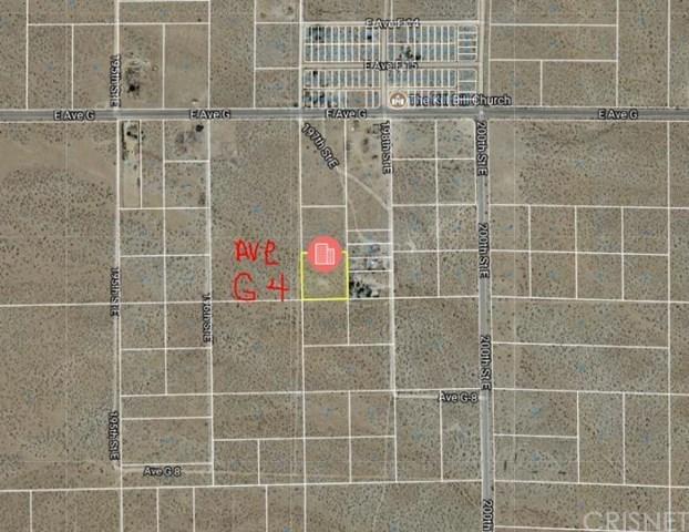 Active | 0 Vac/Vic 197 Ste/Ave G4 Lancaster, CA 93535 0