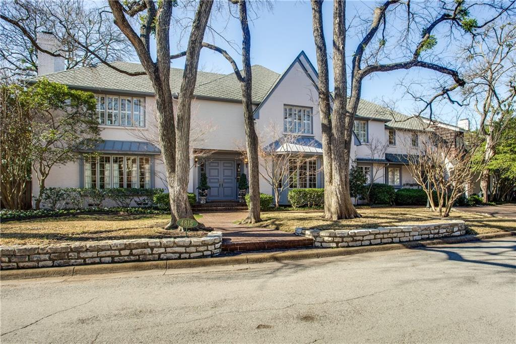 Active | 4815 Saint Johns Drive Highland Park, Texas 75205 0
