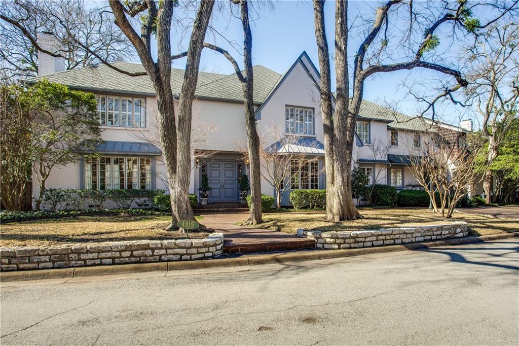 Sold Property | 4815 Saint Johns Drive Highland Park, TX 75205 0
