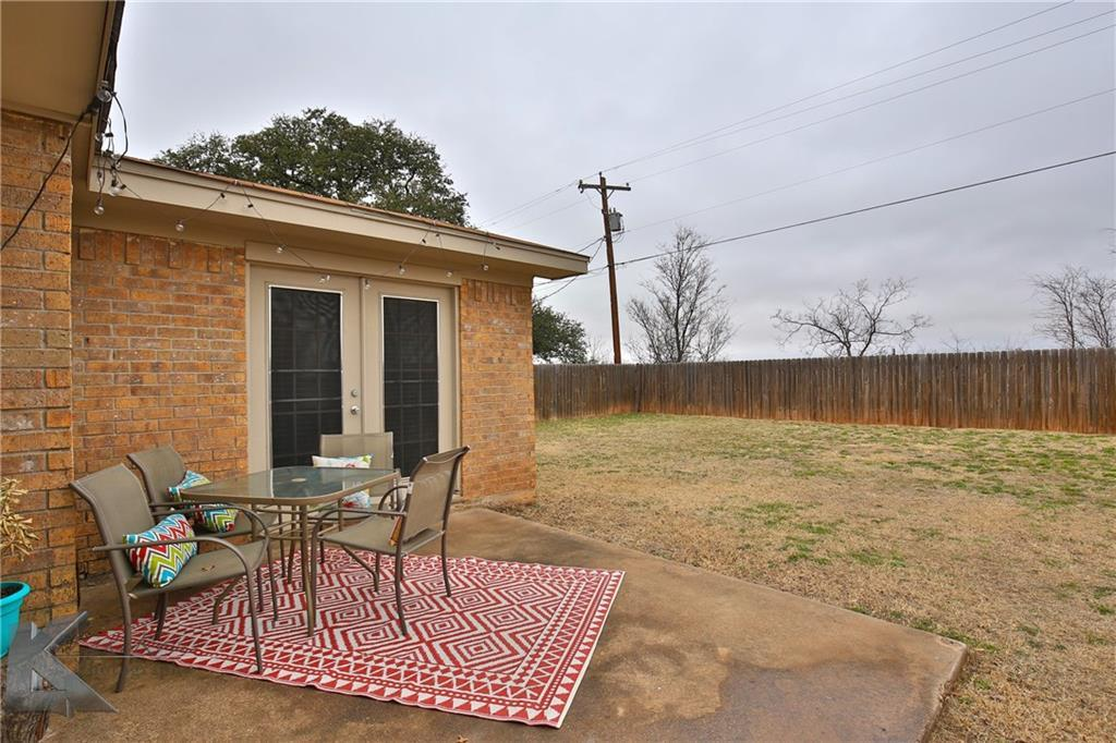 Sold Property | 1042 Baylor Street Abilene, Texas 79602 28