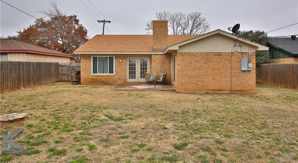 Sold Property | 1042 Baylor Street Abilene, Texas 79602 32