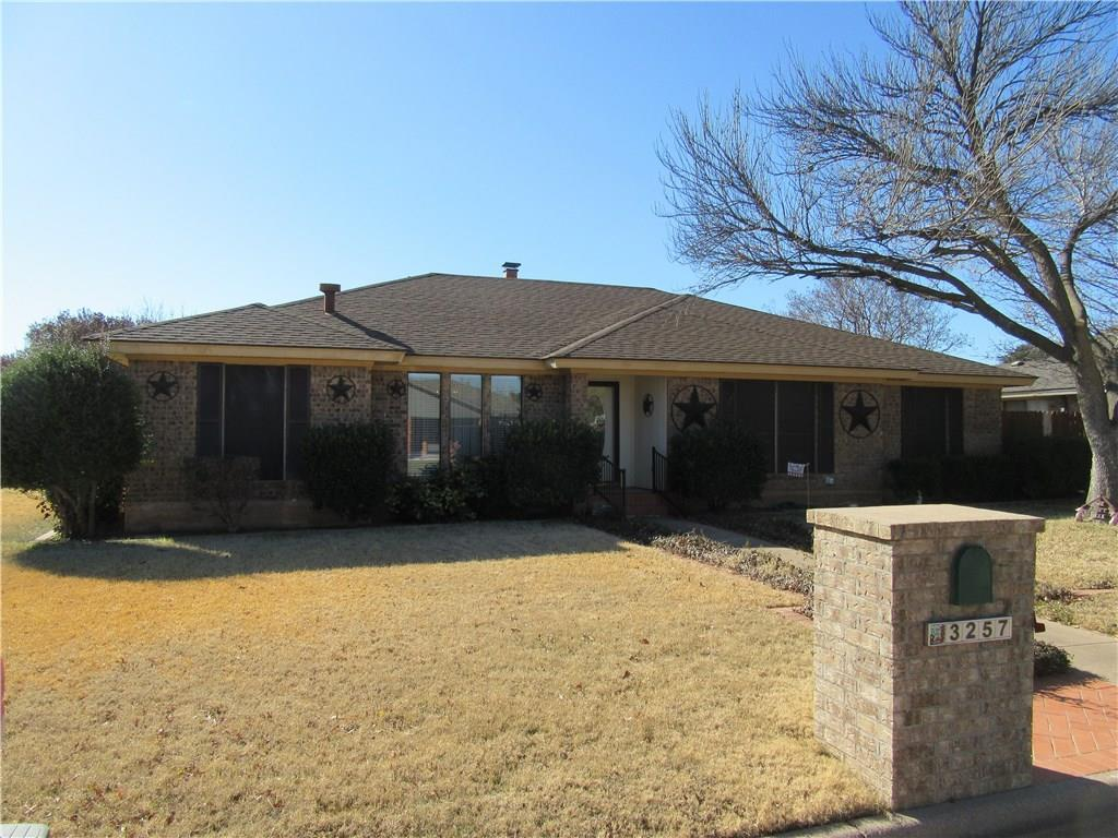 Sold Property | 3257 Woodhollow Circle Abilene, Texas 79606 0