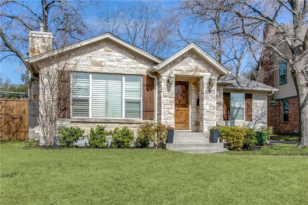 Sold Property | 6447 Vanderbilt Avenue Dallas, Texas 75214 1