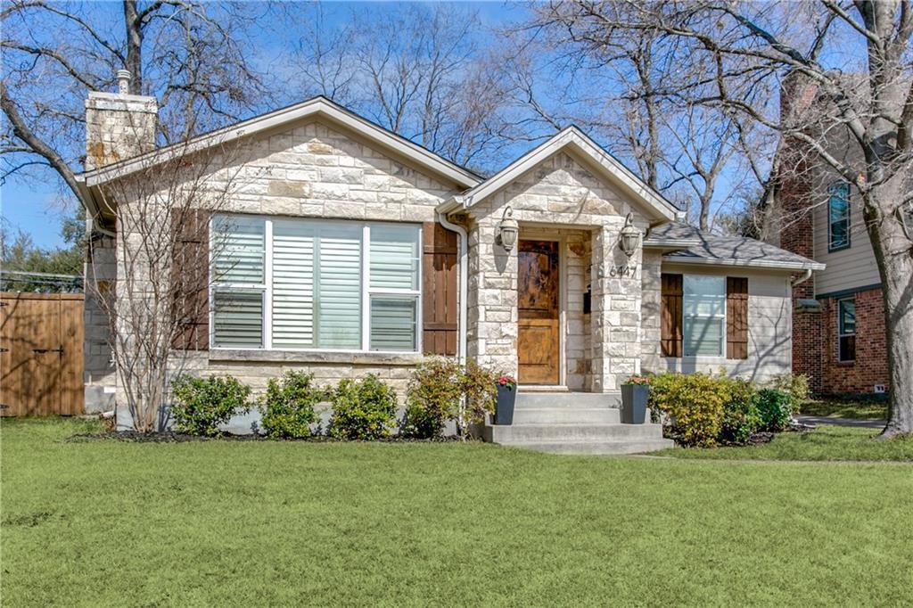 Sold Property | 6447 Vanderbilt Avenue Dallas, Texas 75214 1
