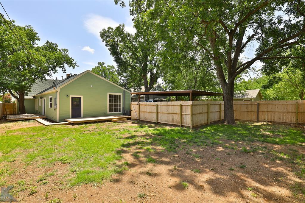 Sold Property | 1258 Palm  Street Abilene, TX 79602 33