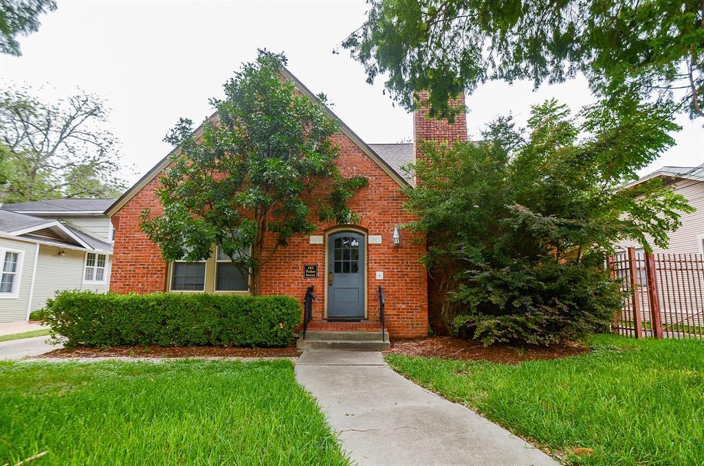 Sold Property   1313 Peden  Street Houston, TX 77006 1