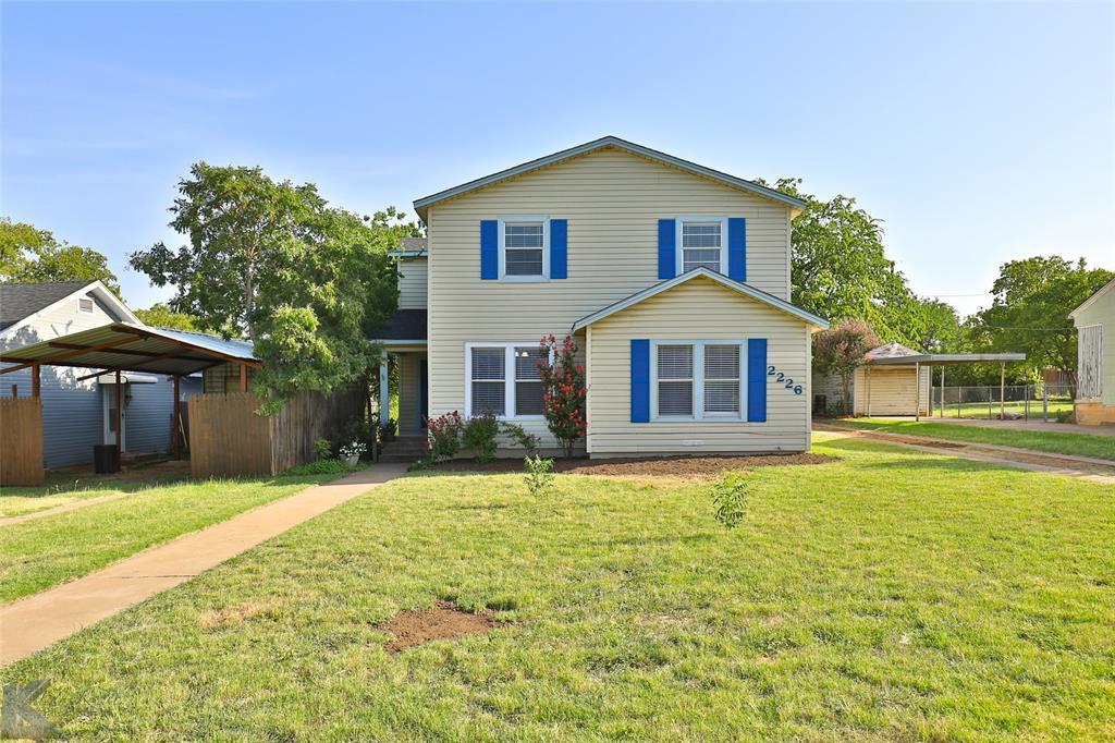 Sold Property | 2226 Melrose Street Abilene, Texas 79605 0