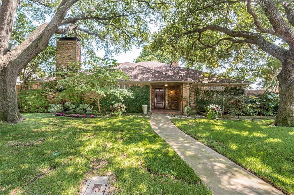 Sold Property | 9010 Fairglen  Drive Dallas, TX 75231 1