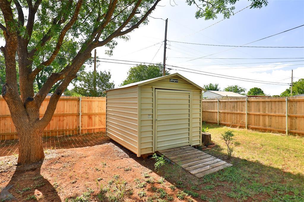 Sold Property | 917 S Jefferson Drive Abilene, Texas 79605 32