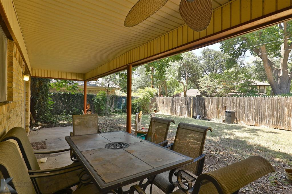 Sold Property | 20 Lawrence  Circle Abilene, TX 79605 23