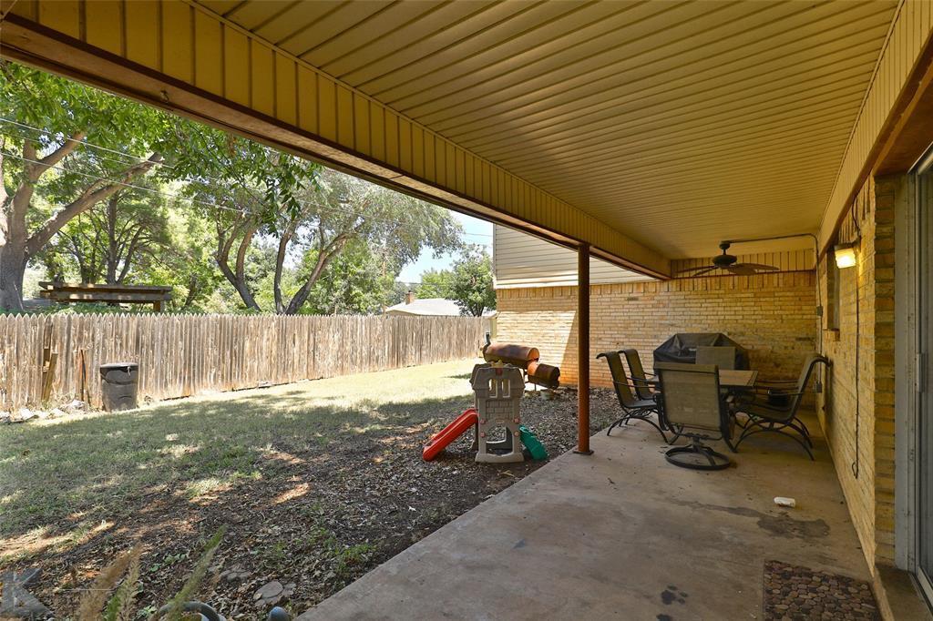 Sold Property | 20 Lawrence  Circle Abilene, TX 79605 31