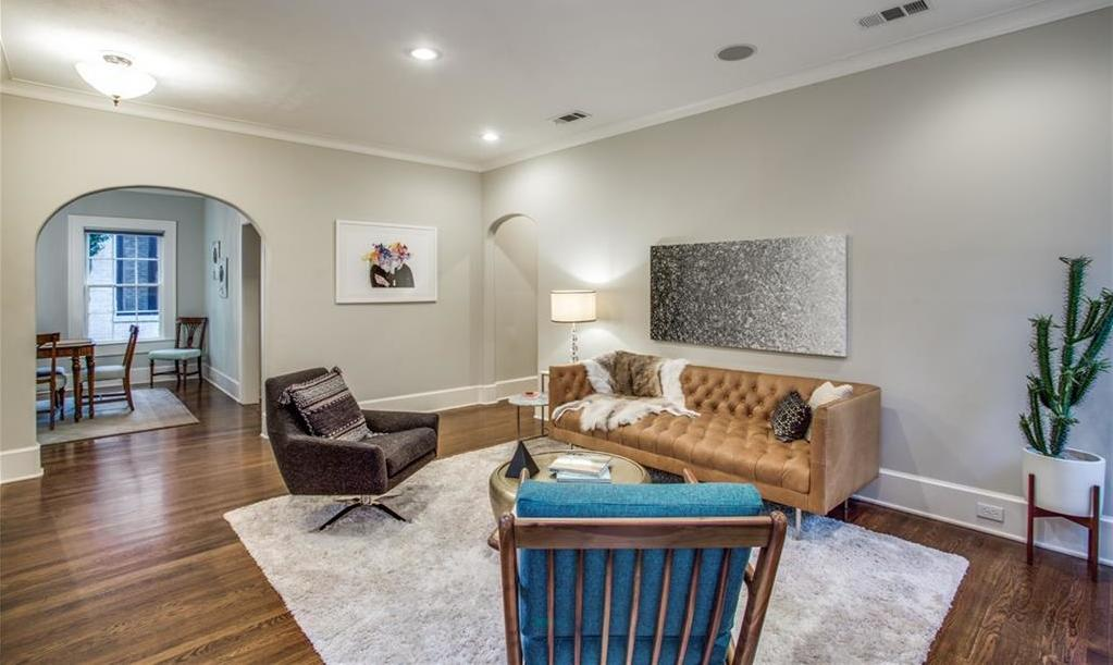 Sold Property   4428 N Hall Street Dallas, Texas 75219 9