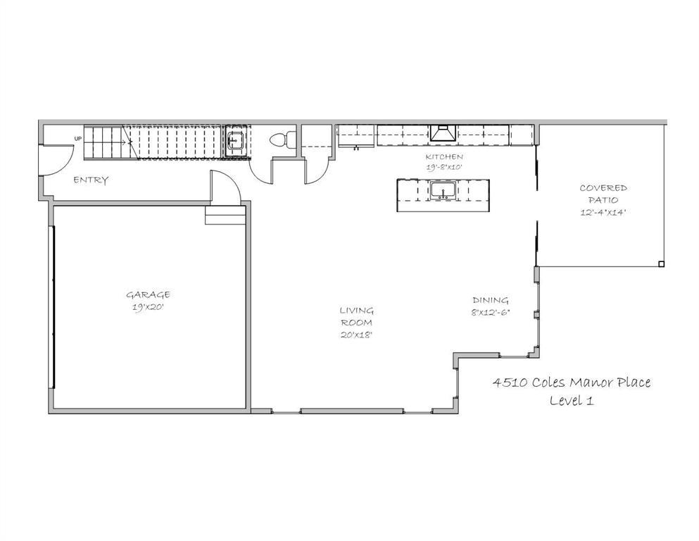 Active Option Contract | 4510 Coles Manor  Place Dallas, TX 75204 5
